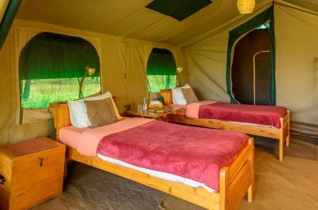 En-suite Tent